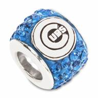 Chicago Cubs Sterling Silver Charm Bead