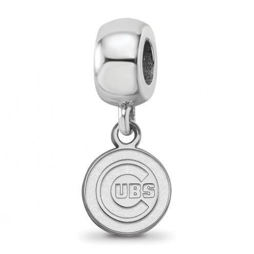 Chicago Cubs Sterling Silver Extra Small Bead Charm