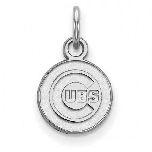 Chicago Cubs Sterling Silver Extra Small Pendant