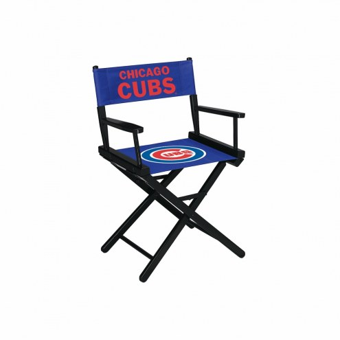 Chicago Cubs Table Height Director's Chair