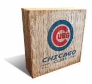 Chicago Cubs Team Logo Block
