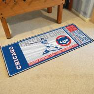 Chicago Cubs Ticket Runner Rug