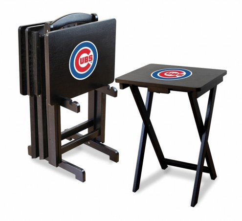 Chicago Cubs TV Trays - Set of 4