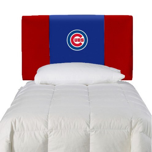 Chicago Cubs Twin Headboard