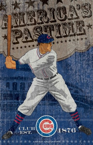 Chicago Cubs Vintage Wall Art