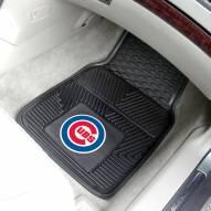 Chicago Cubs Vinyl 2-Piece Car Floor Mats