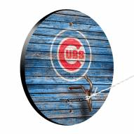 Chicago Cubs Weathered Design Hook & Ring Game