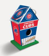 Chicago Cubs Wood Birdhouse