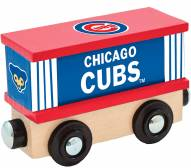 Chicago Cubs Wood Box Car Train