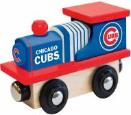 Chicago Cubs Wood Toy Train