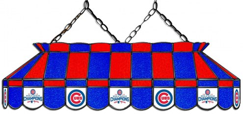 "Chicago Cubs 40"" Stained Glass Pool Table Light"