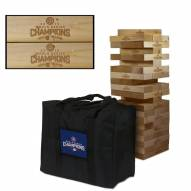 Chicago Cubs Giant Wooden Tumble Tower Game