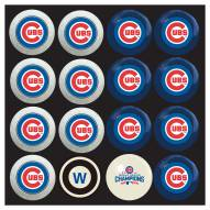 Chicago Cubs World Series Home vs. Away Pool Ball Set