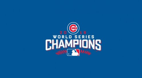 Chicago Cubs World Series MLB Team Logo Billiard Cloth