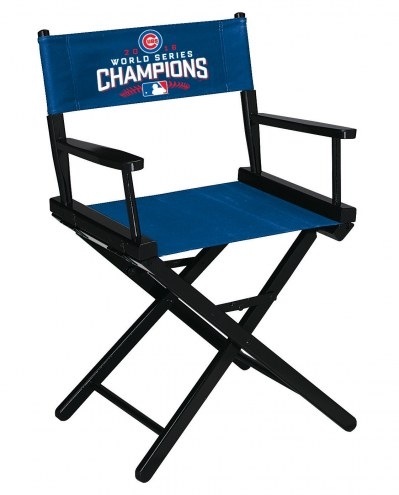 Chicago Cubs World Series Table Height Director's Chair