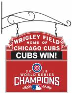 Chicago Cubs 2016 World Series Tavern Sign