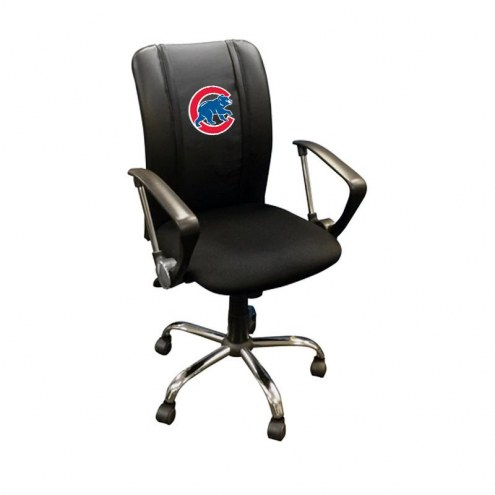 Chicago Cubs XZipit Curve Desk Chair with Secondary Logo