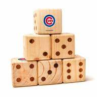Chicago Cubs Yard Dice