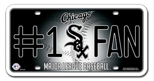 Chicago White Sox #1 Fan License Plate