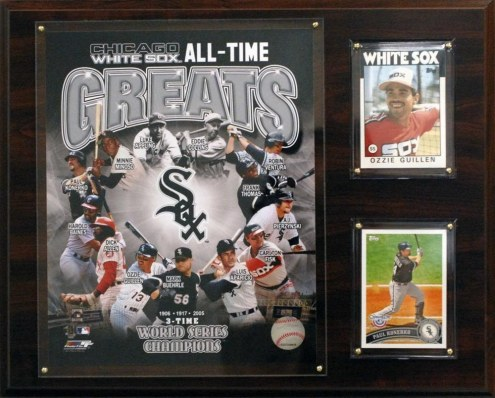 """Chicago White Sox 12"""" x 15"""" All-Time Great Photo Plaque"""