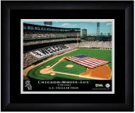 Chicago White Sox 13 x 16 Personalized Framed Stadium Print