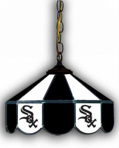 """Chicago White Sox 14"""" Glass Pub Lamp"""