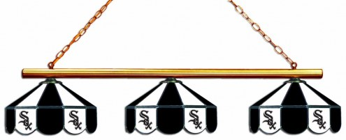 Chicago White Sox 3 Shade Pool Table Light