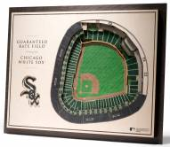 Chicago White Sox 5-Layer StadiumViews 3D Wall Art