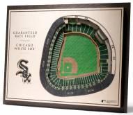 Chicago White Sox 5-Layer StadiumViews 3D Wall Art