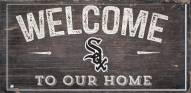 """Chicago White Sox 6"""" x 12"""" Welcome Sign"""