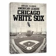 Chicago White Sox Newspaper Stadium Printed Canvas