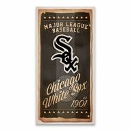 Chicago White Sox Watercolor Printed Canvas