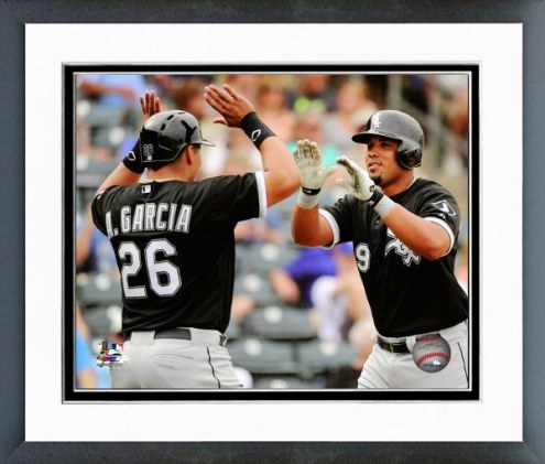 Chicago White Sox Avisail Garcia & Jose Abreu Action Framed Photo