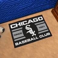 Chicago White Sox Baseball Club Starter Rug