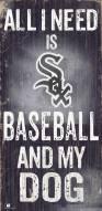 Chicago White Sox Baseball & My Dog Sign