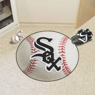 Chicago White Sox Baseball Rug