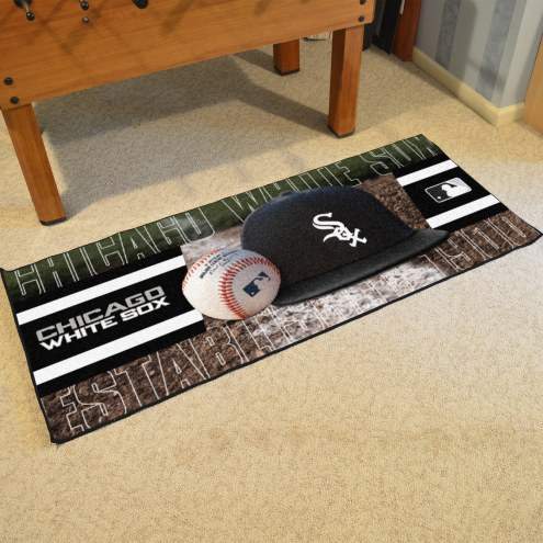 Chicago White Sox Baseball Runner Rug