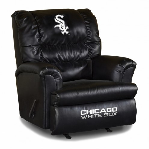 Chicago White Sox Big Daddy Leather Recliner