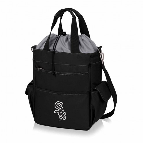 Chicago White Sox Black Activo Cooler Tote