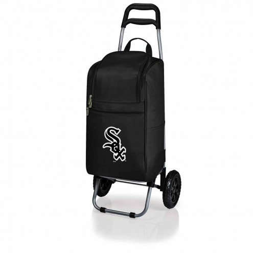 Chicago White Sox Black Cart Cooler