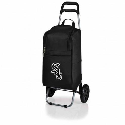 Chicago White Sox Black Cart Cooler