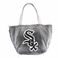 Chicago White Sox Black MLB Vintage Tote Bag