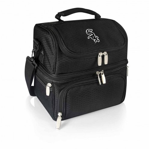 Chicago White Sox Black Pranzo Insulated Lunch Box