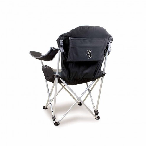 Chicago White Sox Black Reclining Camp Chair
