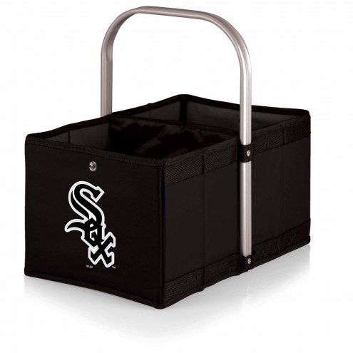 Chicago White Sox Black Urban Picnic Basket