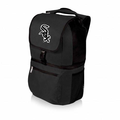 Chicago White Sox Black Zuma Cooler Backpack