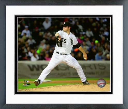 Chicago White Sox Carlos Rodon Action Framed Photo