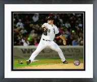 Chicago White Sox Carlos Rodon 2015 Action Framed Photo