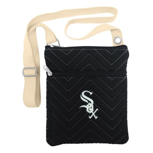 Chicago White Sox Chevron Stitch Crossbody Bag
