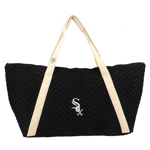 Chicago White Sox Chevron Stitch Weekender Bag